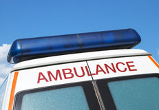 Ambulância foto de stock