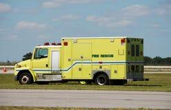 Ambulância amarela Imagem de Stock