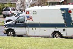 Ambulância americana fotografia de stock
