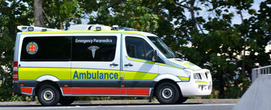 Ambulância australiana Fotos de Stock