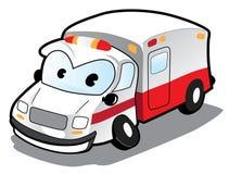 Ambulância dos desenhos animados Fotografia de Stock