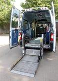Ambulância incapacitada da mobilidade fotos de stock royalty free