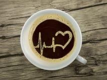 A ambulância oferece o café Imagem de Stock Royalty Free