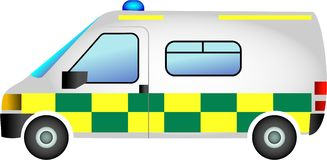 Ambulance illustration stock