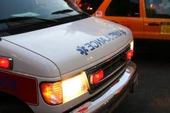 Ambulance. An ambulance responding to emergency royalty free stock photo