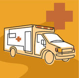An Ambulance Stock Image