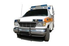 Ambulance. Vehicle isolated on white background Royalty Free Stock Image