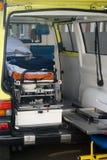 Ambulance. A ambulance car interieur detail Stock Photo