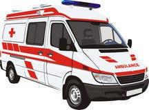 Ambulance vector illustration