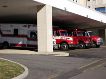 Ambulance Bay royalty free stock images