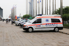 Ambulance. The Beijing Olympic Games an ambulance Stock Photos