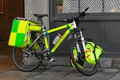 Ambulance bicycle Royalty Free Stock Image