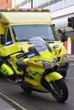 Ambulance bike Stock Images