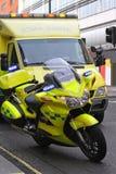Ambulance bike Stock Images