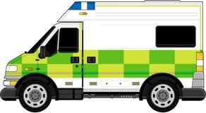 Ambulance britannique illustration libre de droits