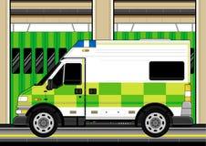 Ambulance britannique illustration de vecteur