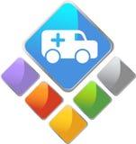 Ambulance Buttons Royalty Free Stock Photo