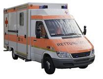 Ambulance car. Stock Images