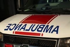 Ambulance car close up Royalty Free Stock Images