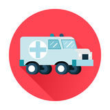Ambulance car icon Stock Photo