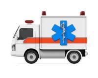Ambulance Car Isolated Stock Photos