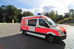 Mercedes ambulance car rescue Stock Photos