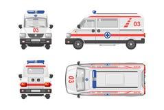 Ambulance car 1 Stock Images