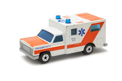 Ambulance car toy Stock Images