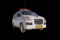 Ambulance car Royalty Free Stock Images