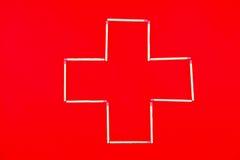 Ambulance croisée Photographie stock libre de droits