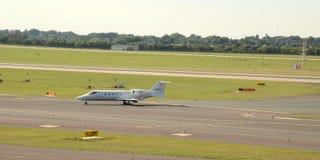 Ambulance d'air - aéroport Duesseldorf Photographie stock libre de droits