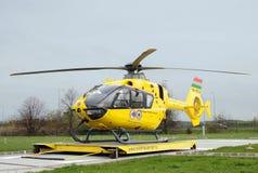 Ambulance d'air hongroise Photo stock
