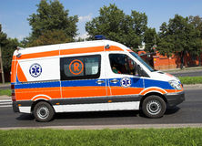Ambulance dans l'action Photos stock