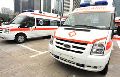 Ambulance de Ford photos libres de droits