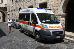 Ambulance de l'Italie Photographie stock libre de droits