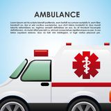 Ambulance design Stock Photos