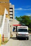 Ambulance at Emergency Royalty Free Stock Photography