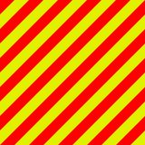 Ambulance emergency background yellow and red stripes diagonally, ambulance emergency diagonal stripes, a warning traffic safety. Ambulance emergency background Stock Photos