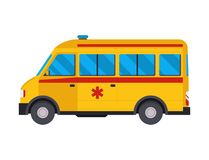 Ambulance emergency car medicine health vector hospital urgent pharmacy  Stock Images