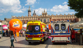 Ambulance Emergency 911 Stock Image