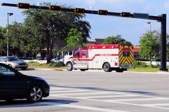 Ambulance fire engine, Florida Royalty Free Stock Photos