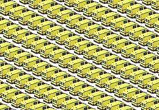Ambulance Fleet. Fleet of yellow ambulances background - These are real vehicles, not toys Royalty Free Stock Photography