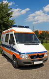 Ambulance front Stock Images