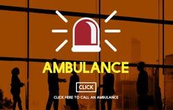 Ambulance Hospital Health Alertness Concept Royalty Free Stock Images