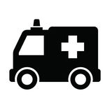 Ambulance icon Royalty Free Stock Photos