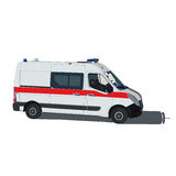 Ambulance. Illustration of isolated on a white background Stock Photo