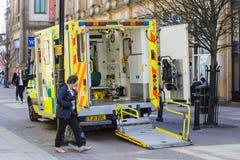 Ambulance interior Royalty Free Stock Photos
