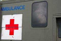 Ambulance militaire Photos libres de droits