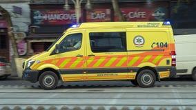 Ambulance of the National Ambulance Service OMSZ, Hungary