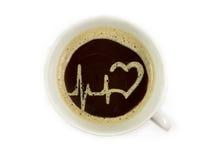 Ambulance offers coffee Royalty Free Stock Photo
